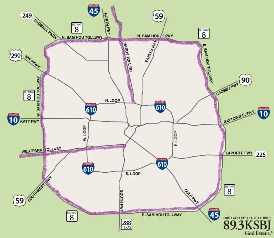 Toll Roads In Houston Map.Learning Houston Roads Tolls Housetonian